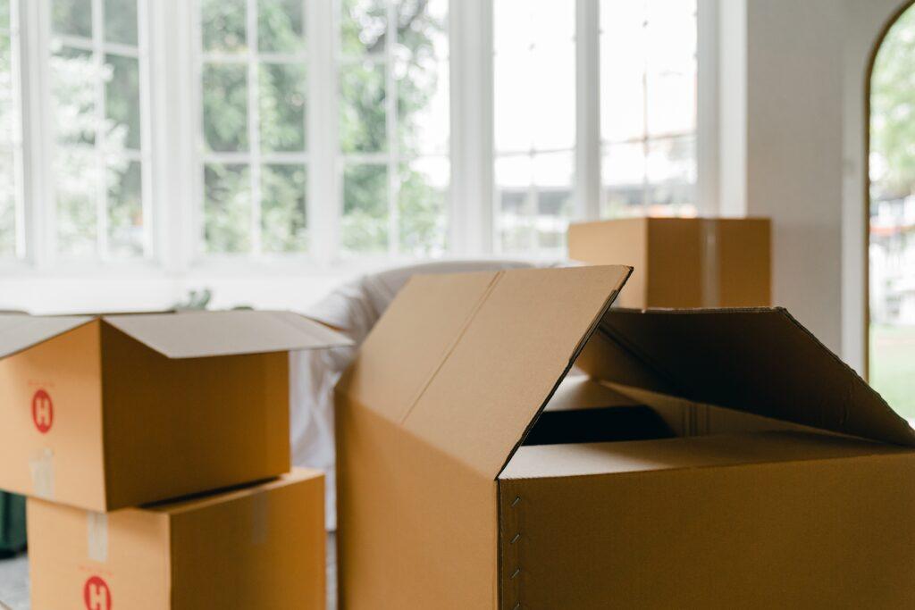Boxes at Shurgard